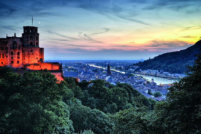Heidelberg and its castle © Getty