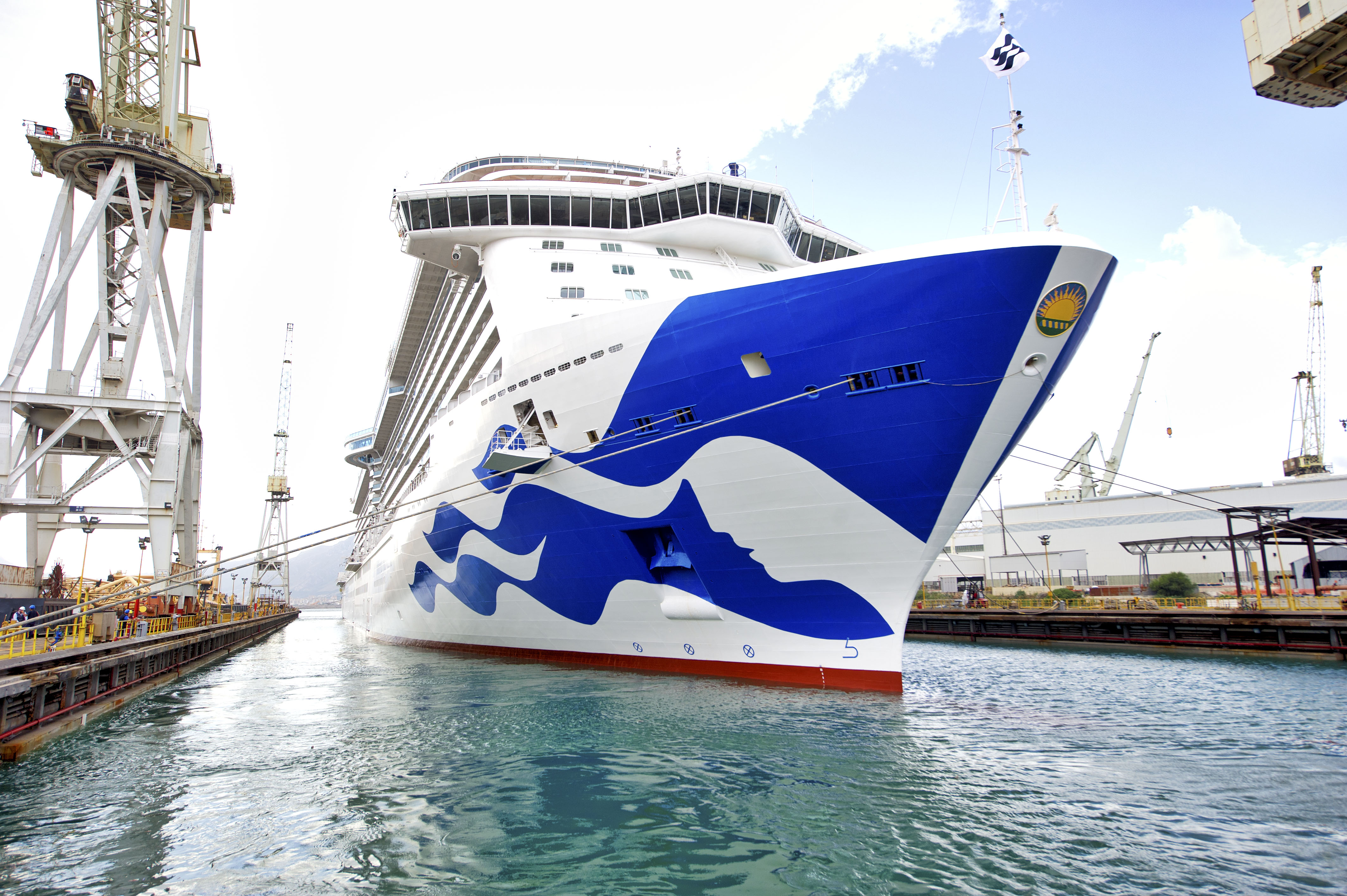 Royal Princess Sets Sail With New Livery Cruise