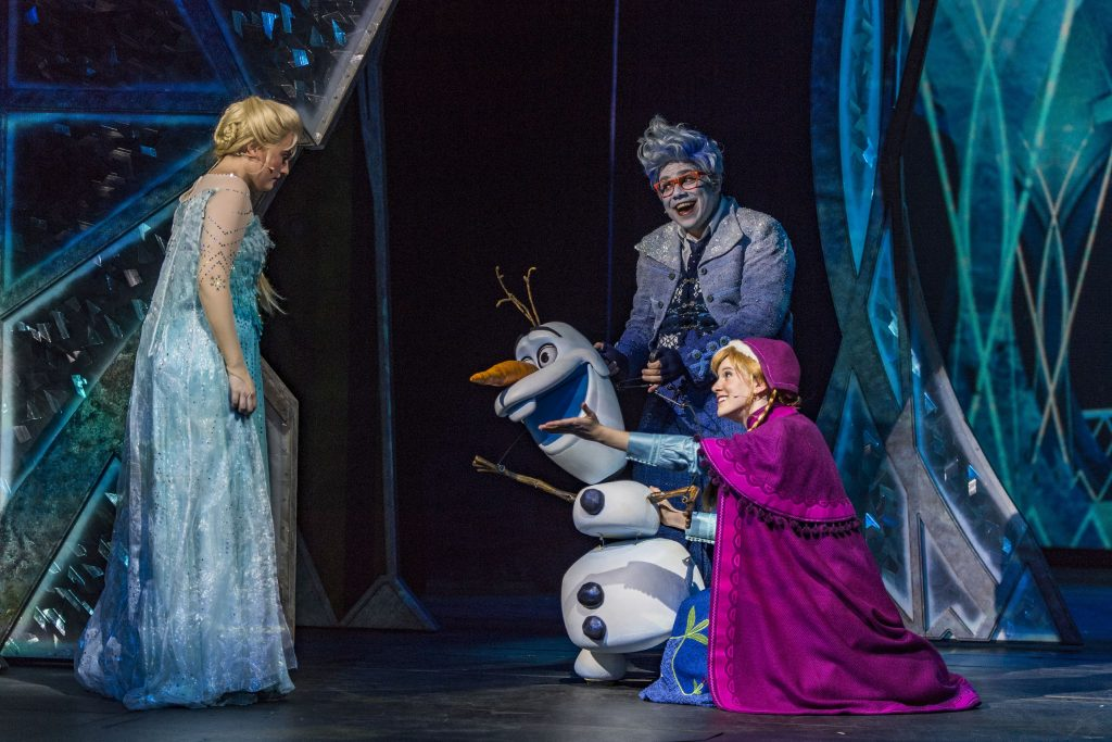 """Frozen: A Musical Spectacular"" © Disney Cruise Line"