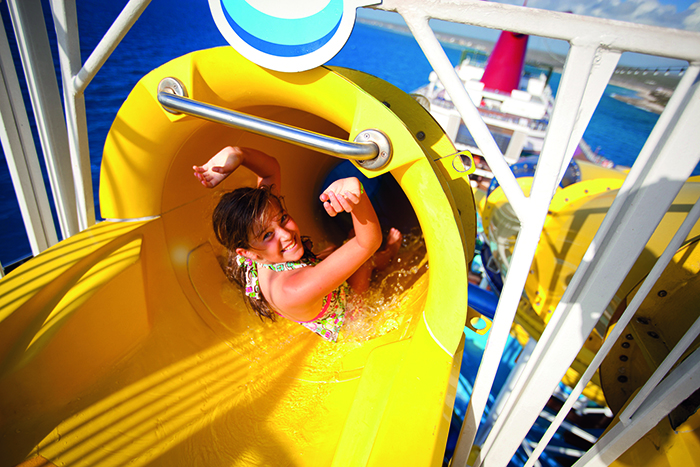 WaterWorks for first-time cruiser - first-time cruiser © Carnival Cruise Line