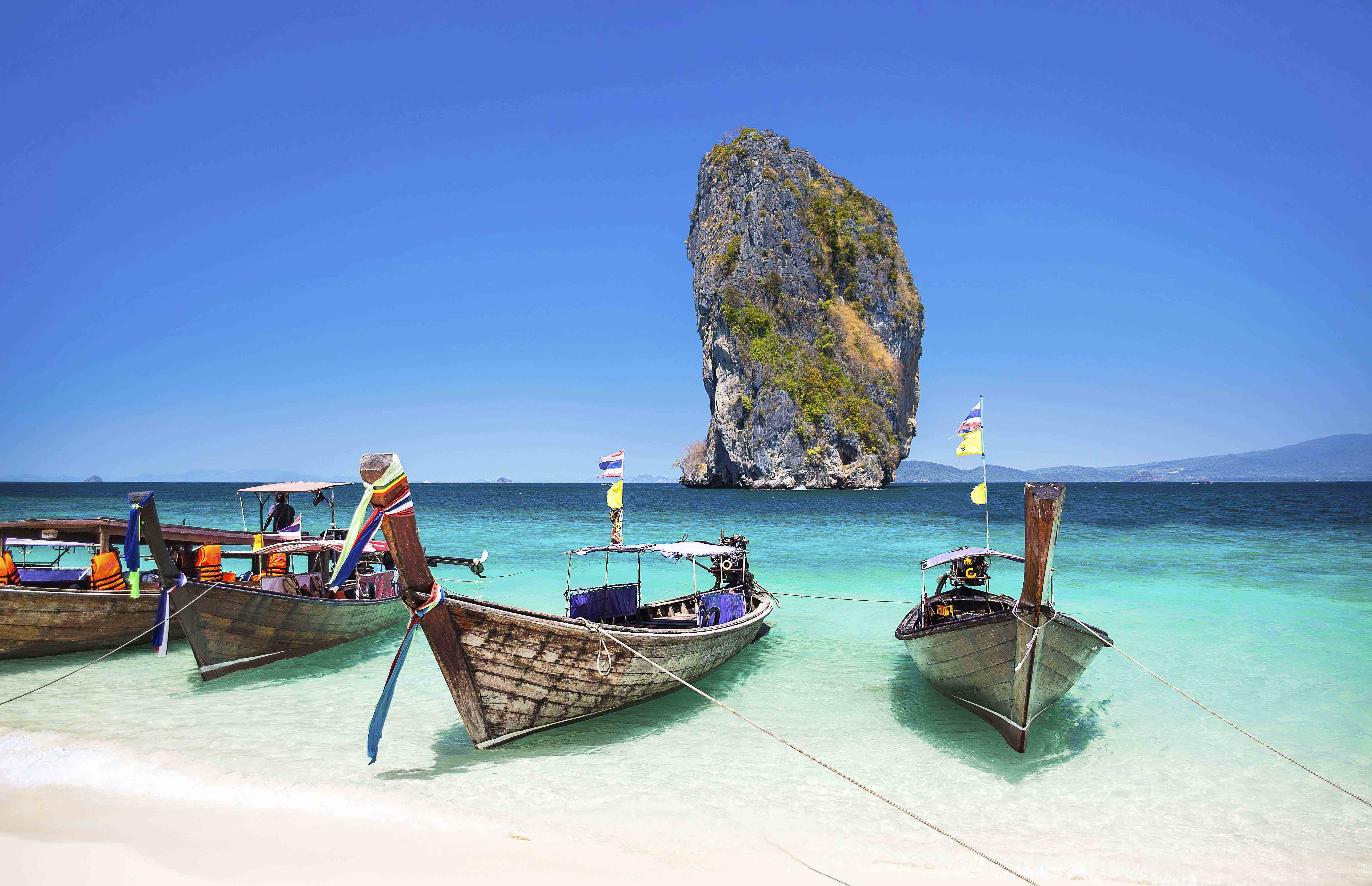Phuket in Thailand is one of the stops on the MSC World Cruise