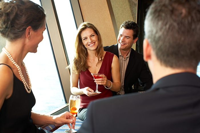 A romantic cruise makes an ideal holiday for couples © Princess Cruises