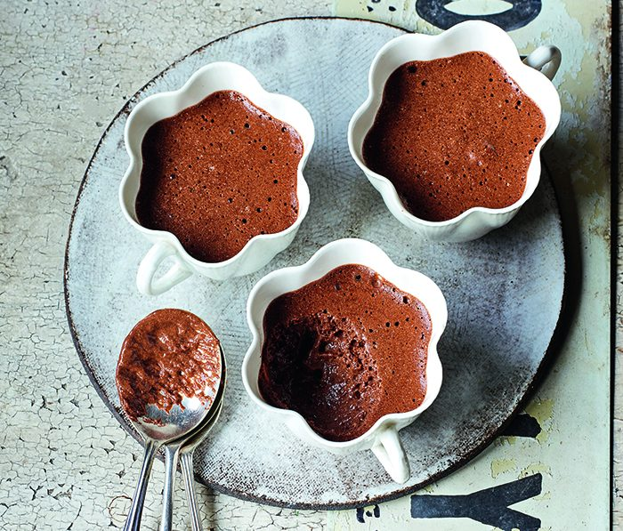James Martin's chocolate mousse recipe for Easter © Peter Cassidy