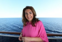 Jane McDonald in Cruising With Jane McDonald