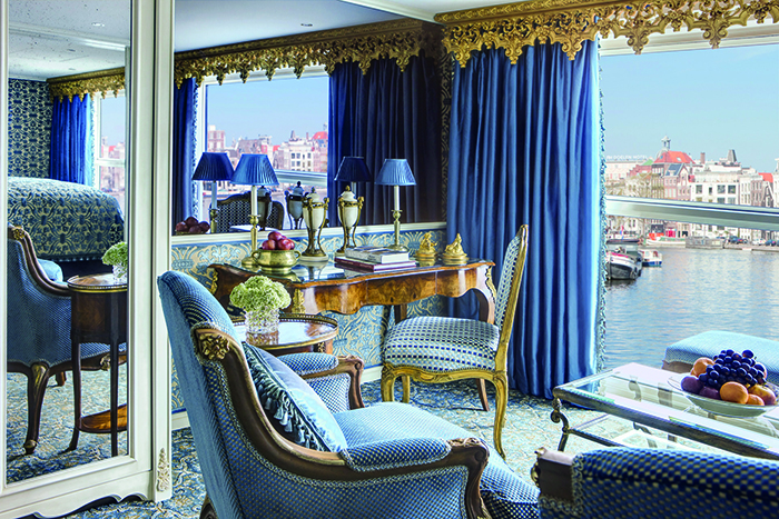 A Royal Suite on board Uniworld's S.S. Maria Theresa