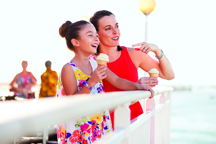 A cruise is a great way to spend quality time with your family © Norwegian Cruise Line