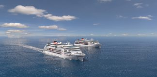 An artist's impression of one of the new expedition ships © Hapag-Lloyd Cruises