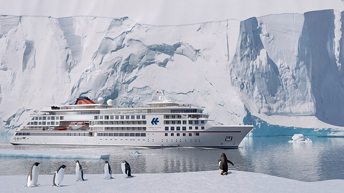 An artist's impression of Hanseatic Nature and Hanseatic Inspiration © Hapag-Lloyd Cruises