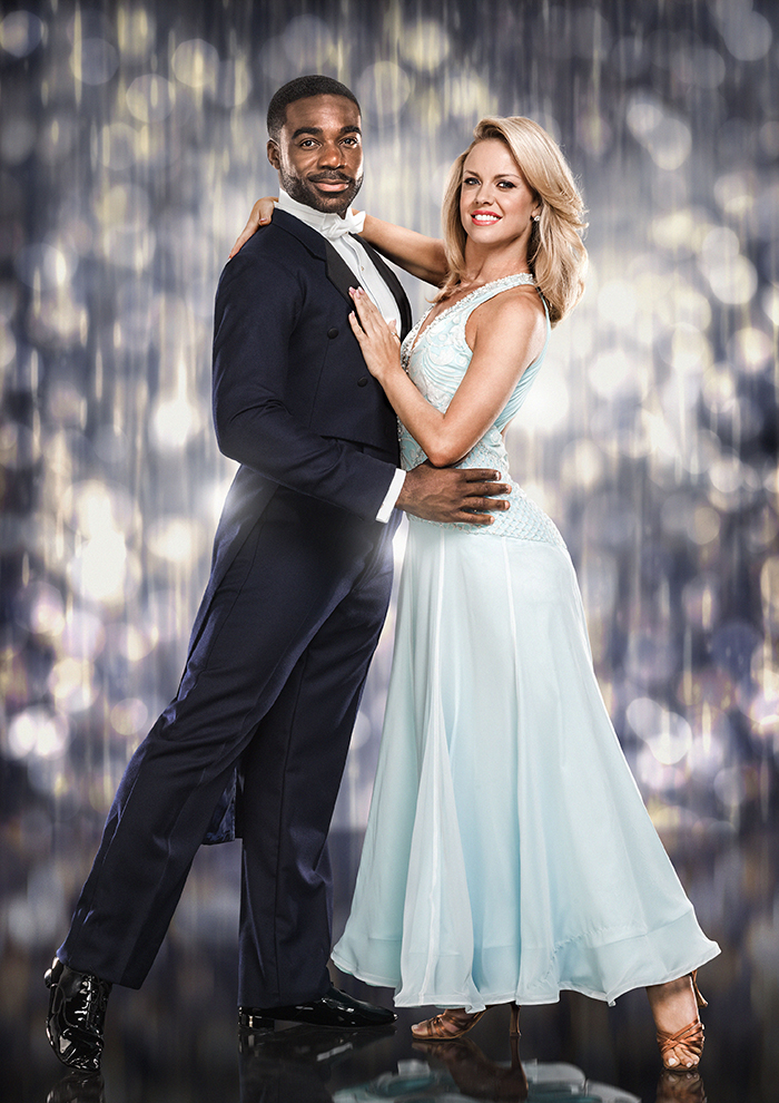 Strictly Come Dancing's Ore Oduba and dance partner Joanne Clifton © Jay Brooks