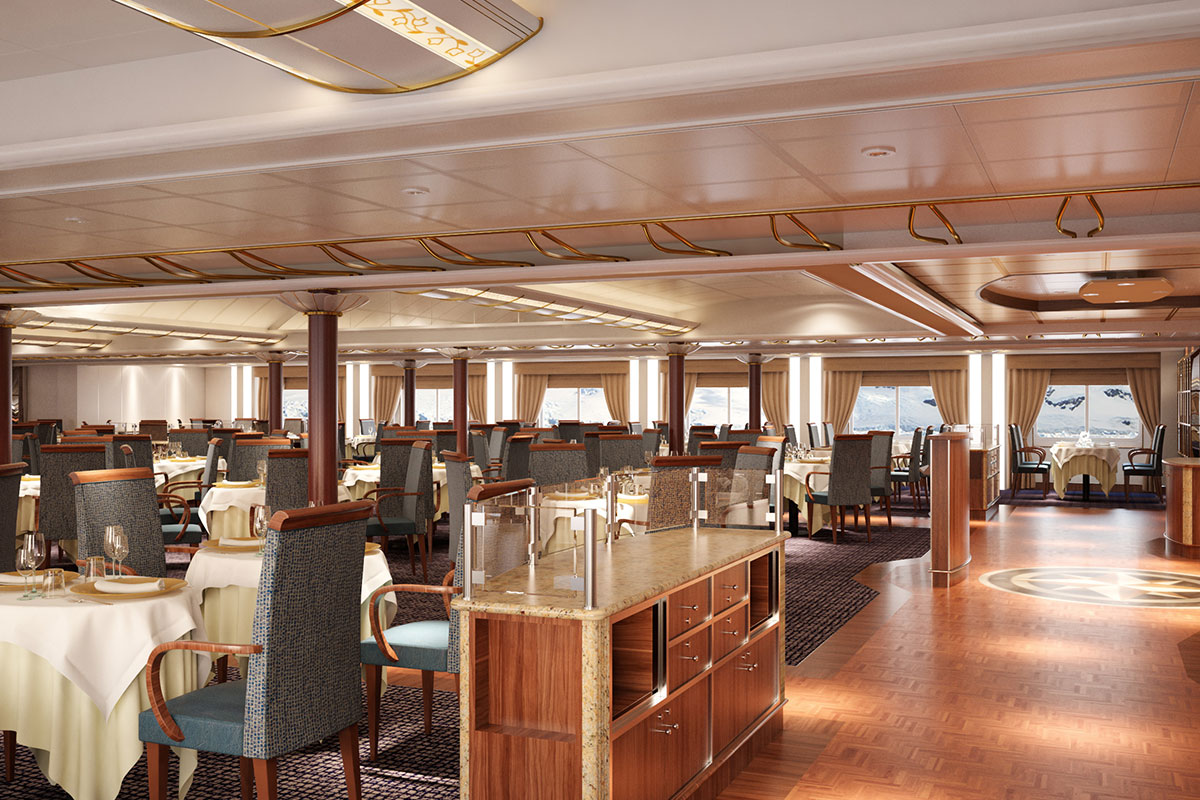 silversea reveals new design for silver cloud - cruise international