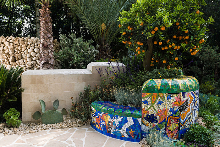 The Viking Cruises Garden of Inspiration at the RHS Chelsea Flower Show