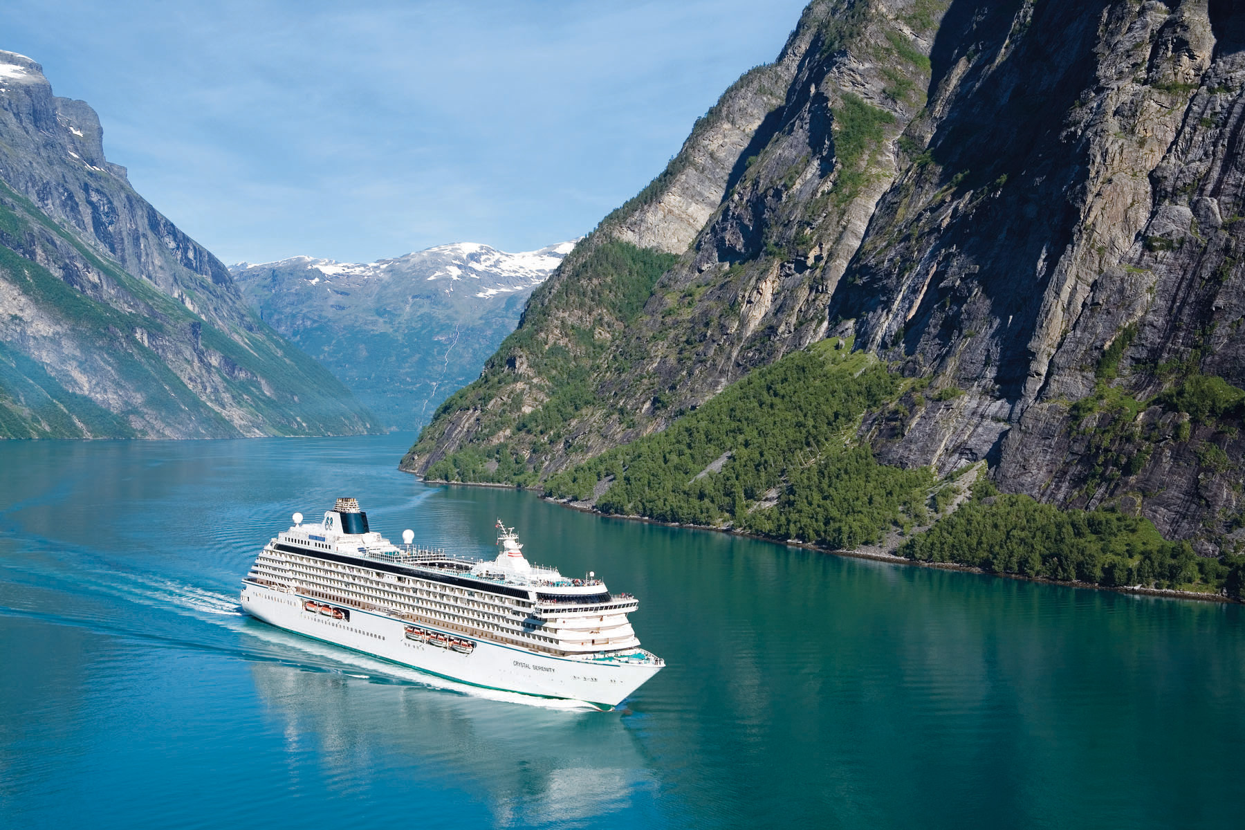 Crystal Symphony And Crystal Serenity Ship Makeovers Revealed - Norway cruises