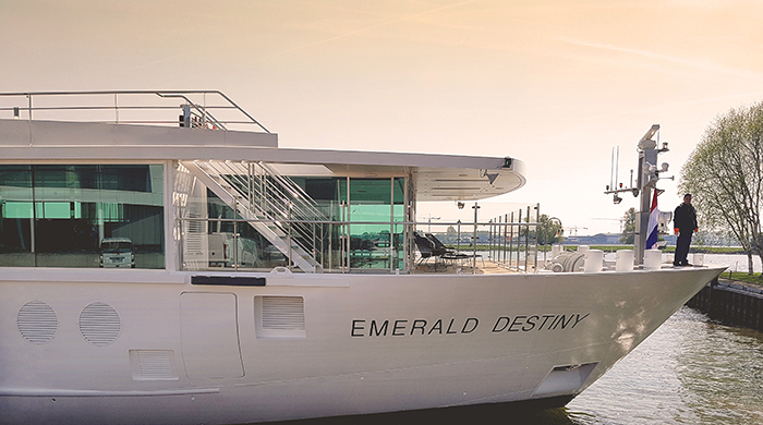 Emerald Waterways' new ship Emerald Destiny