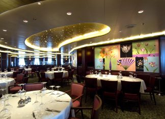 Baytree Restaurant on board P&O Cruises' Ventura cruise deal of the day