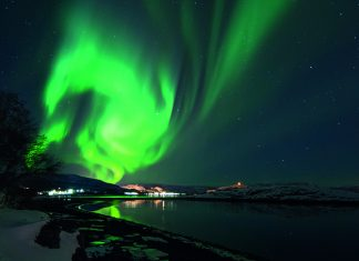 The Northern Lights in Alta, Norway
