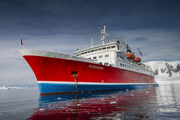 Antarctica Expedition cruise Ship G Adventure