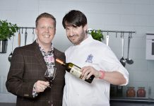 P&O Cruises Food & Wine Heroes Olly Smith and Eric Lanlard © Steve Dunlop