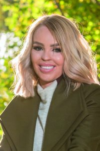 Celebrity Travels Katie Piper