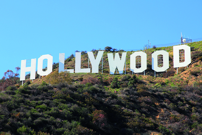 The famous Hollywood sign in Los Angeles © iStock