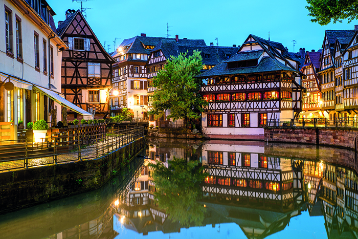 Traditional houses in Strasbourg © iStock
