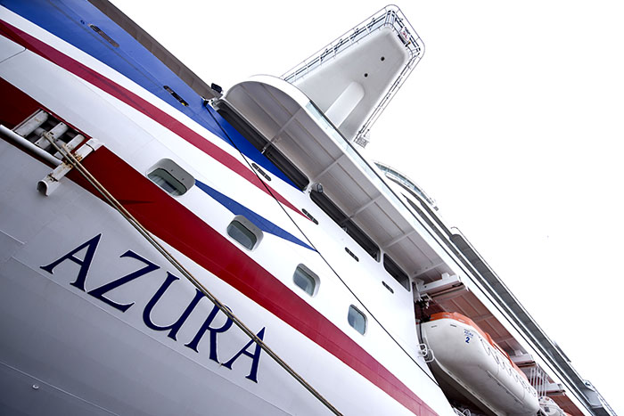 The first same-sex wedding will be held on Azura in the Caribbean © P&O Cruises