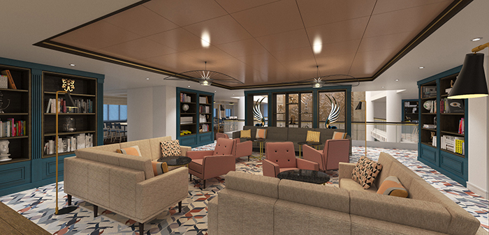 Saga Cruises Spirit of Discovery Library