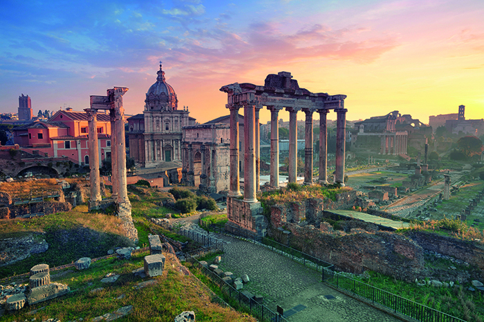 The Roman Forum in Rome, Italy © iStock