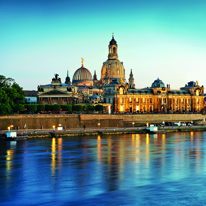 Semper Opera House in Dresden, Germany © iStock