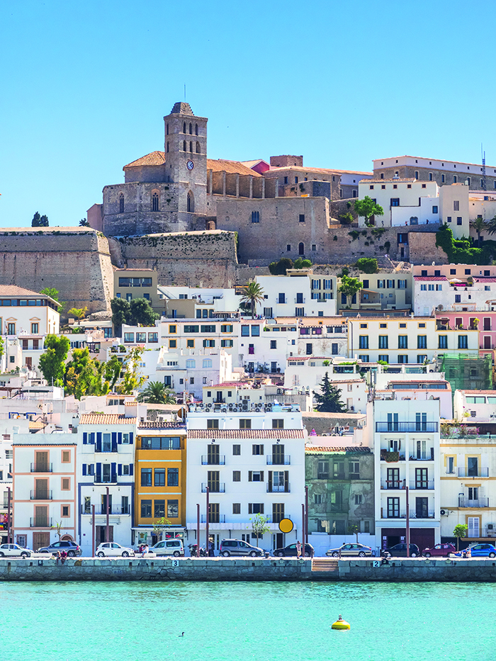 Ibiza's picturesque Old Town © iStock