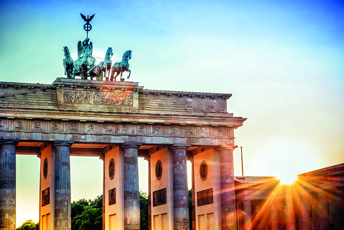 Brandenburg Gate in Berlin © iStock