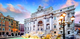 One of Rome's iconic landmarks is the Trevi Fountain © iStock