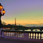 The lights of Paris sparkle at twilight © Getty Images