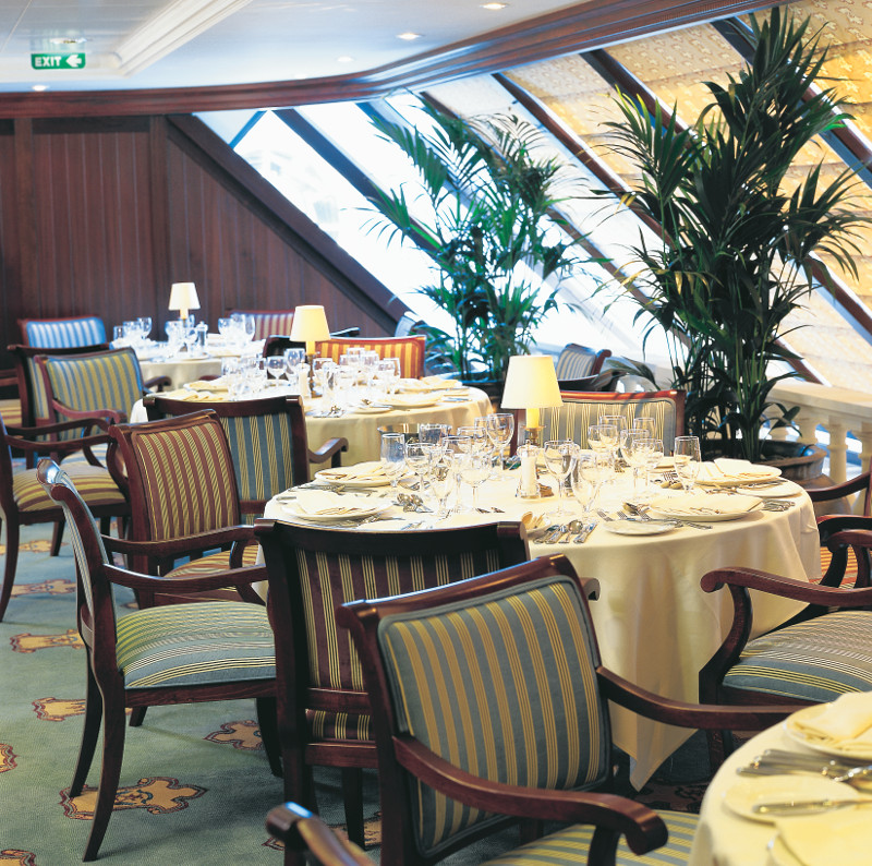 Princess Cruises' Sterling Steakhouse