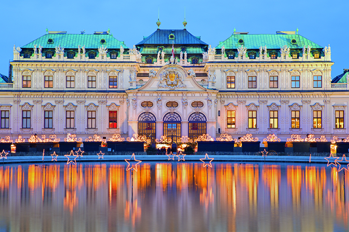 The Belvedere Palace in Vienna © iStock