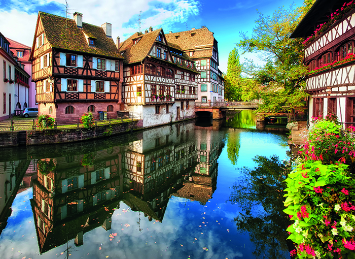 Petite France, a historic quarter in the French city of Strasbourg © iStock
