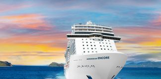 Norwegian Cruise Line's new ship Norwegian Encore