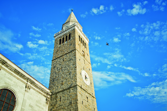The bell tower in Koper, Slovenia © iStock