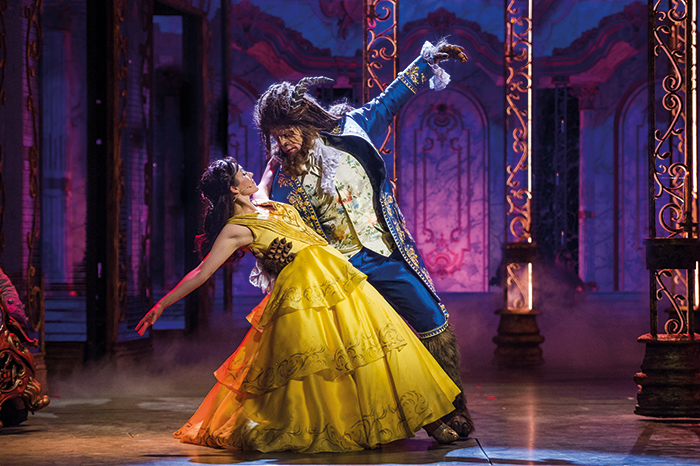 An original musical production of Beauty and the Beast on board Disney Dream © Disney Cruise Line
