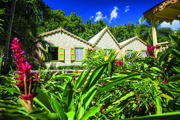 Gingerbread houses in St Kitts