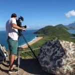 ITV's The Cruise at Sir Timothy's Hill in St Kitts, the Caribbean
