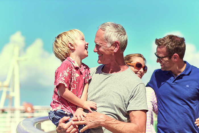 Multigenerational cruising is a great way to bring the entire family together