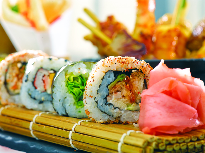 Sushi at Red Ginger © Oceania Cruises