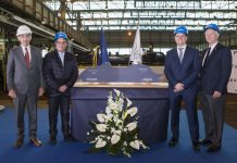 Seven Seas Splendor steel cutting at Fincantieri shipyard