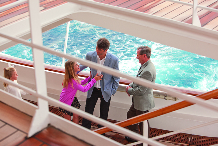On a multigenerational cruise families can choose to do as much or as little together as they wish