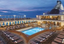 Silversea Cruises Silver Shadow Exterior Pool Deck Silver Spirit