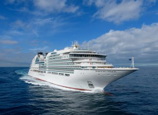SEABOURN TAKES DELIVERY OF THE FLEET'S NEW ULTRA-LUXURY SHIP, SEABOURN OVATION
