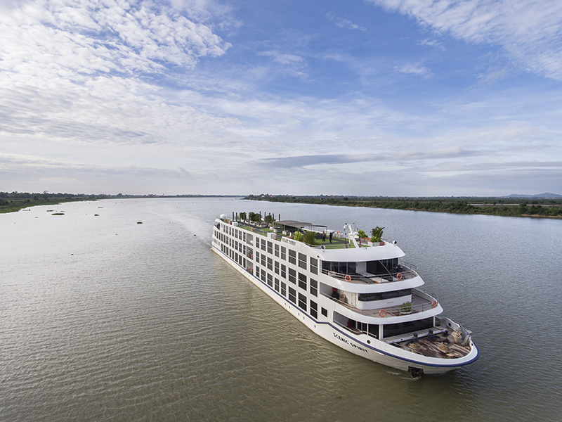 Cruise the Mekong River