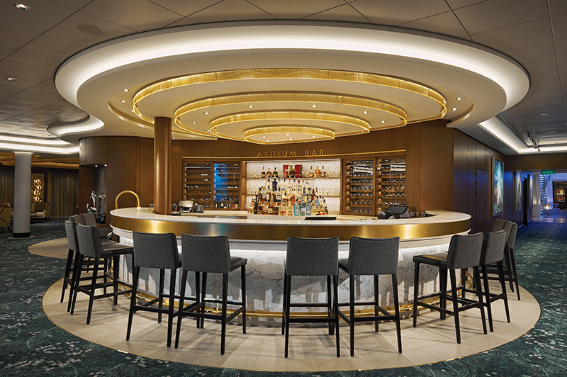 Norwegian Bliss Atrium Bar