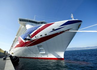 P&O Cruises ship Britannia, launched in 2015