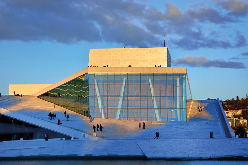 The Opera House, Oslo, Norway
